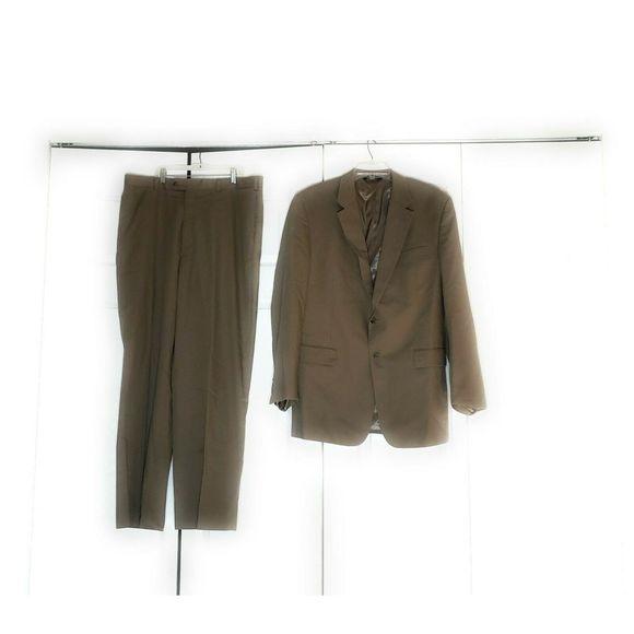 Jos. A. Bank Other - Jos.A.Bank Mens Suit 44 L Pants 39 L Tan Beige
